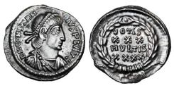 Ancient Coins - CONSTANTIUS II, 337-361 AD.  AR Siliqua.   ex E. Harptree Hoard.