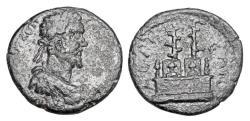 Ancient Coins - PISIDIA, Selge.  Septimius Severus, 193-211 AD.  ® 24.