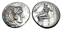 Ancient Coins - KINGDOM of MACEDON.  Alexander III the Great, 336-323 BC.  AR Tetradrachm.