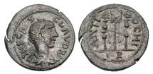 Ancient Coins - PISIDIA, Antiochia.  Claudius II, 268-270 AD.  AE26.