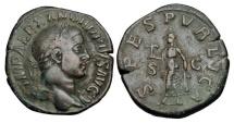 Ancient Coins - SEVERUS ALEXANDER, 222-235 AD.  AE Sestertius