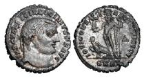 Ancient Coins - LICINIUS I, 308-324 AD.  Silvered Æ Large Module Follis.