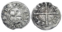 World Coins - LIVONIAN ORDER.  Anonymous, 1422-1470 AD.  AR Schilling …