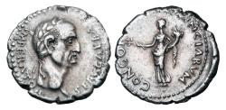 Ancient Coins - GALBA, 68-69 AD.  AR Denarius.  Rare and Choice.