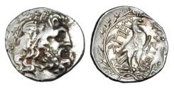 Ancient Coins - EPIRUS.  Epirote Republic, 238-168 BC.  AR Drachm.