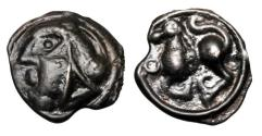Ancient Coins - CELTIC SWITZERLAND, Sequani.  I Cntury BC.  Potin Unit.