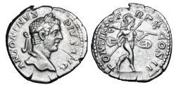 Ancient Coins - CARACALLA, 198-217 AD.  AR Denarius.