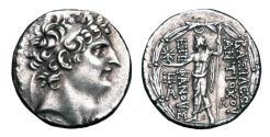 Ancient Coins - SELEUKID KINGDOM.  Antiochos VIII, 121-96 BC.  AR Tetradrachm.