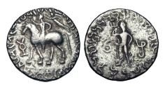 Ancient Coins - INDO-PARTHIANS.  Gondophares, 20-55 AD.  AR Tetradrachm.