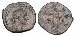 Ancient Coins - VOLUSIAN, 251-253 AD.  ® Sestertius.  ex Hoffman collection.