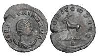 Ancient Coins - SALONINA, wife of Gallienus, 254-268 AD.  Æ Antoninianus.  Scarce.