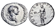 TRAJAN, 98-117 AD.  AR Denarius
