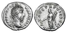 Ancient Coins - LUCIUS VERUS, 161-169 AD.  AR Denarius.
