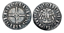 World Coins - GERMANY, Lübeck.  XIV Century AD.  AR Witten …