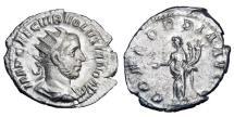 Ancient Coins - VOLUSIAN, 251-253 AD.  AR Antoninianus.