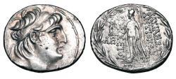 Ancient Coins - SELEUKID KINGDOM.  Antiochos VII, 138-129 BC.  AR Tetradrachm.  ex Gallant collection.