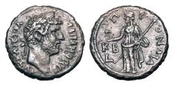 Ancient Coins - ROMAN EGYPT.  Hadrian, 117-138 AD.  Billon Tetradrachm.   ex Art institute of Chicago collection.