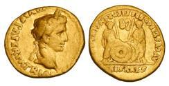 AUGUSTUS, 27BC-14AD.  Gold Aureus.