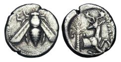Ancient Coins - IONIA, Ephesos.  390-330 BC.  AR Tetradrachm.