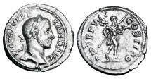 SEVERUS ALEXANDER, 222-235 AD.  AR Denarius.