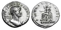 Ancient Coins - HADRIAN, 117-138 AD.  AR Denarius.