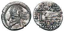 Ancient Coins - PARTHIA.  Artabanos IV, 216-224 AD.  AR Drachm.
