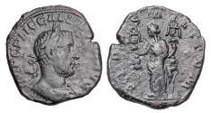 Ancient Coins - GALLIENUS, 253-268 AD.  Æ Sestertius.