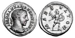 Ancient Coins - SEVERUS ALEXANDER. 222-235 AD.  AR Denarius.