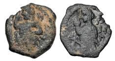 Ancient Coins - NABATAEN KINGS.  Aretas IV, 9 BC - 40 AD.  Æ14.