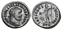 Ancient Coins - LICINIUS I, 317-324 AD.  Silvered Æ Follis.  ex Hoffman collection.