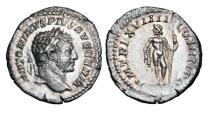 Ancient Coins - CARACALLA,198-217 AD.  AR Denarius.