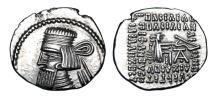 Ancient Coins - PARTHIA.  Artabanos II, 10-38 AD.  AR Drachm.