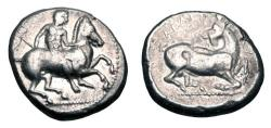 Ancient Coins - CILICIA, Kelenderis.  400-333 BC.  AR Stater.