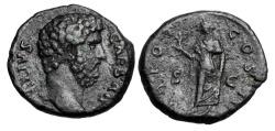 Ancient Coins - AELIUS, as Caesar. 136-138 AD.  AE As.