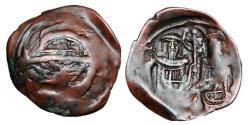 Ancient Coins - BYZANTINE EMPIRE.  Andronikos II and Michael IX, 1294-1320 AD.  Æ Stamenon.