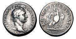 Ancient Coins - PHOENICIA, Tyre.  Trajan, 98-117 AD.  AR Tetradrachm.
