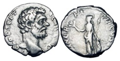 Ancient Coins - CLODIUS ALBINUS, 193-197 AD.  AR Denarius.
