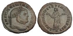 Ancient Coins - MAXIMIANUS HERCULIUS, 286-305 AD.  AE Follis