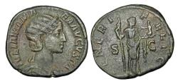 Ancient Coins - JULIA MAMAEA, mother of Alexander, 222-235 AD.  Æ Sestertius.