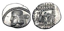 Ancient Coins - PARTHIA.  Vardanes I, 40-45 AD.  AR Drachm.
