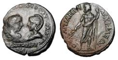 Ancient Coins - THRACE, Anchialus.  Gordian III and Tranquillina, 238-244 AD.  Æ25.