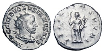 Ancient Coins - VOLUSIAN, 251-253 AD.  AR Antoninianus
