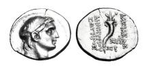 SELEUKID KINGDOM.  Demetrios I, 162-150 BC.  AR Drachm.