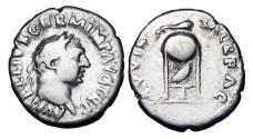 Ancient Coins - VITELLIUS, 69 AD.  AR Denarius.