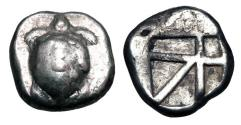 Ancient Coins - AEGINA.  After 404 BC.  AR Stater.