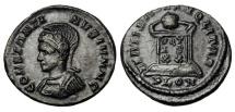 Ancient Coins - CONSTANTINE II, 337-340 AD.  AE Follis
