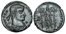 Ancient Coins - VETRANIO, 350 AD.   Æ Centenionalis