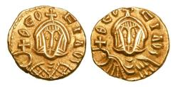 Ancient Coins - BYZANTINE EMPIRE.  Theophilos, 829-842 AD.  Gold Semissis.