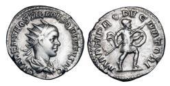 Ancient Coins - HOSTILIAN, 251 AD.  AR Antoninianus.