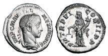 Ancient Coins - SEVERUS ALEXANDER, 222-235 AD.  AR Denarius.